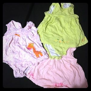 Other - Toddler/baby girl summer one-piece dresses